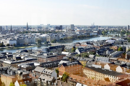 View from 15th Floor of Maersk Building | Where to Find Best Views of Copenhagen from Above the City | Oregon Girl Around the World