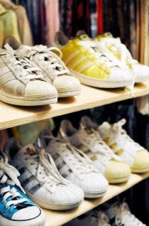 Adidas Originals at Soul Shine Vintage Second Hand Shop in Aarhus Denmark | Sustainable City of Culture | Oregon Girl Around the World
