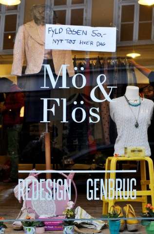 Mös & Flös Redesign and Second Hand Shop in Aarhus Latin Quarter | Sustainable City of Culture | Oregon Girl Around the World
