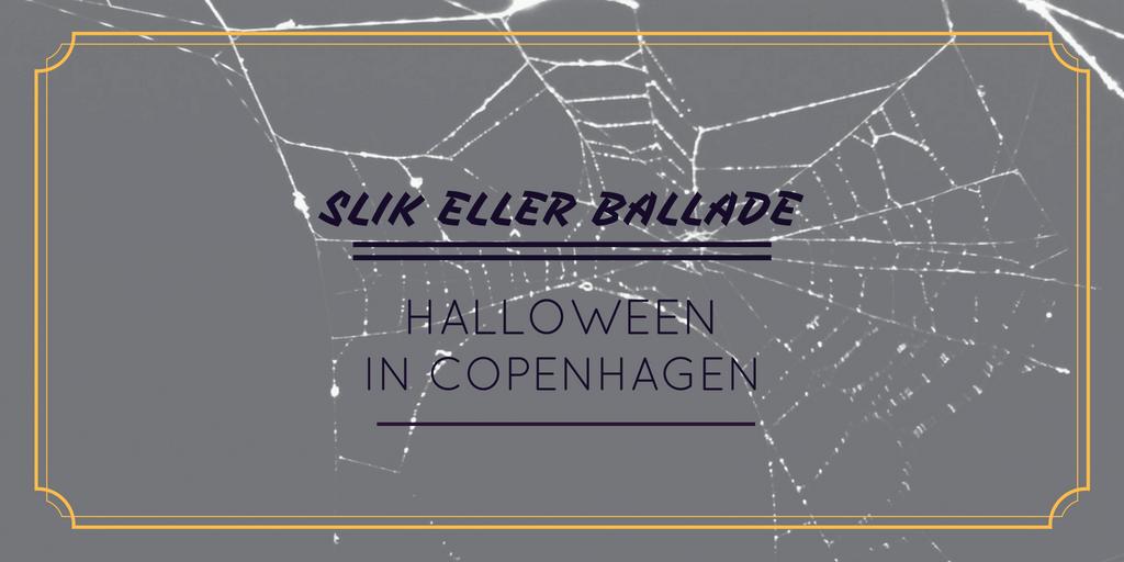 Slik eller Ballade is Trick or Treat for Danes