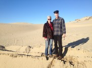 Derek and I at the Dunes.