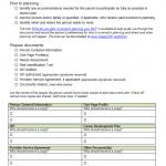 ISP Checklist
