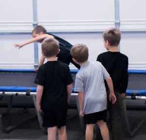 Bend Oregon Recreational Gymnastics for Boys