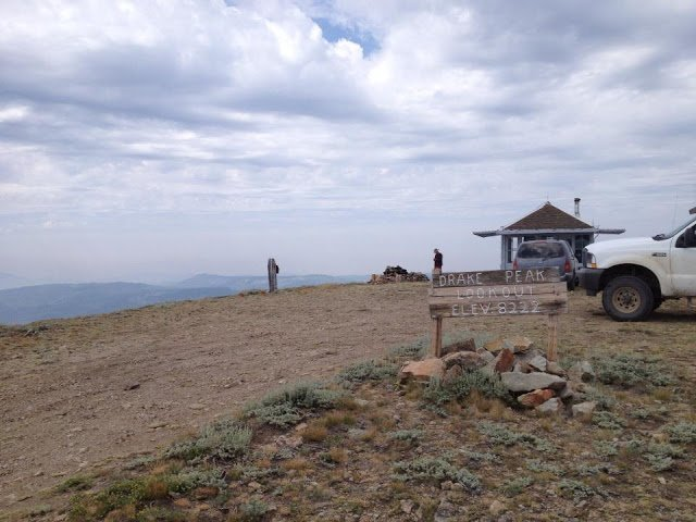 Drake's Peak Lookout - rent a lookout in Oregon