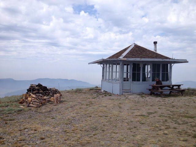 Drake's Peak Lookout - rent this lookout from the Forest Service