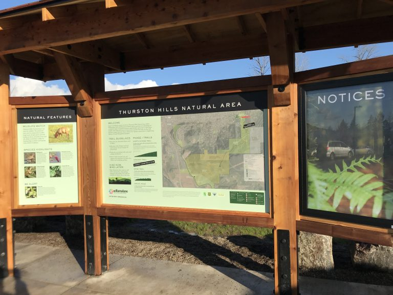 Springfield's newest hiking trail has interpretive signs