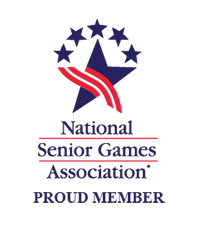 National Senior Games, Proud Member, Logo