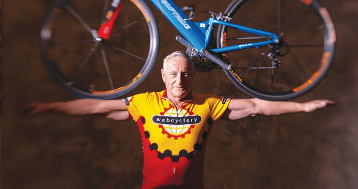 'Use It Or Lose It - Pathways to Healthy Living.' The true-life adventures of internationally known Senior Ironman Lew Hollander. By Dana Burnett.
