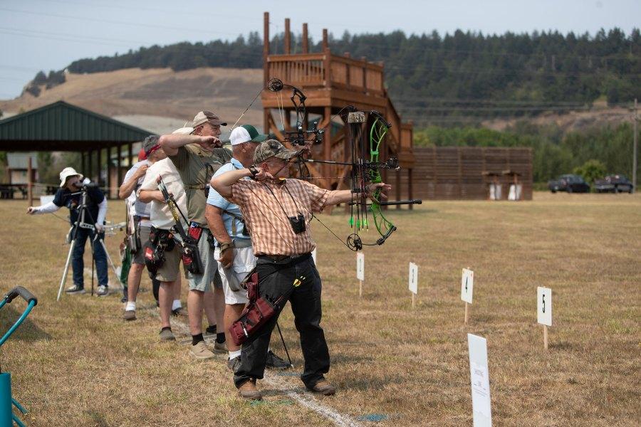 2021 Oregon Senior Games - Archery - Amanda Loman