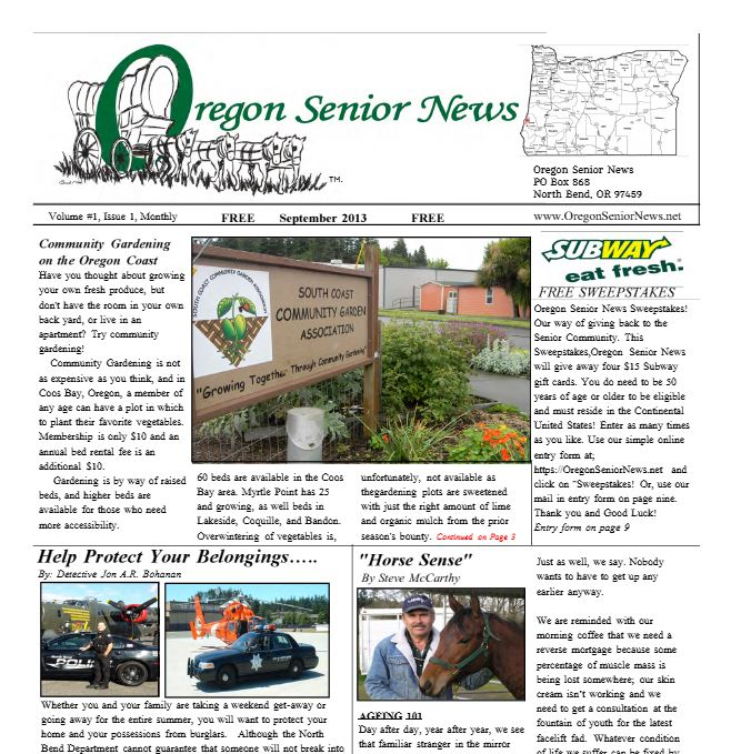Senior news Sept snipit