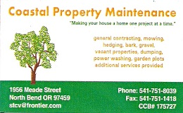 Coastal property 260 X 160