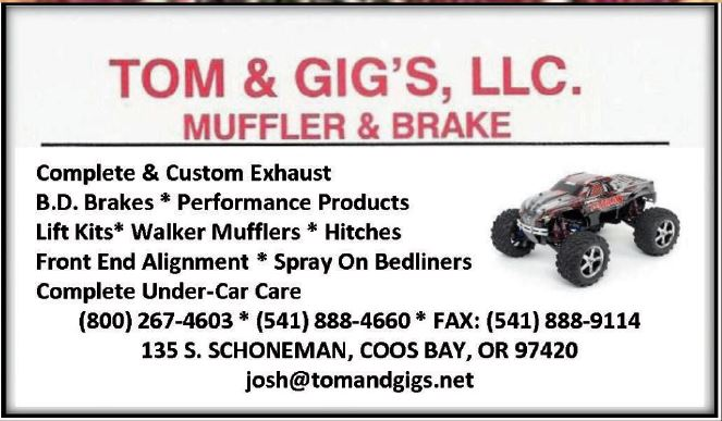 Tom & Gigs Muffler & Brakes,