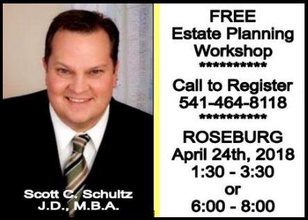 Free Estate Planning Workshop. Click for more details!