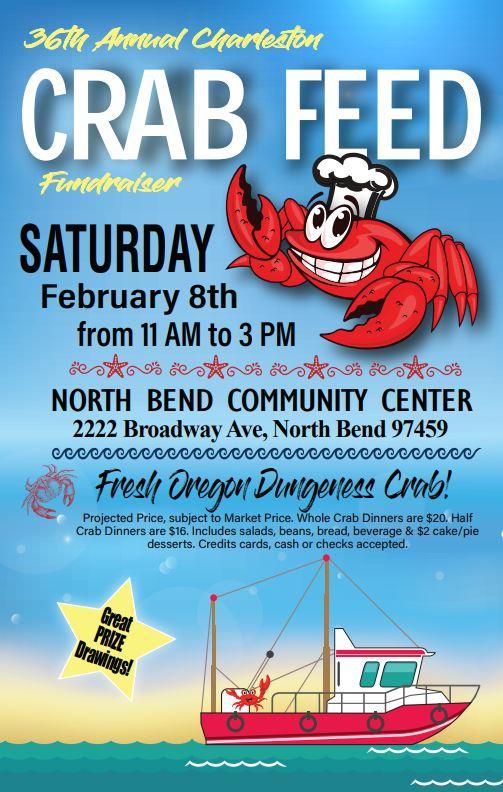 36th Annual Charleston Crab Feed