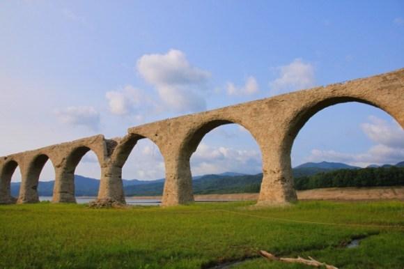 【131日目】タウシュベツ橋梁《2014/07/25》