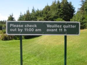 Parc national de l'Île-du-Prince-Édouard, août 2009
