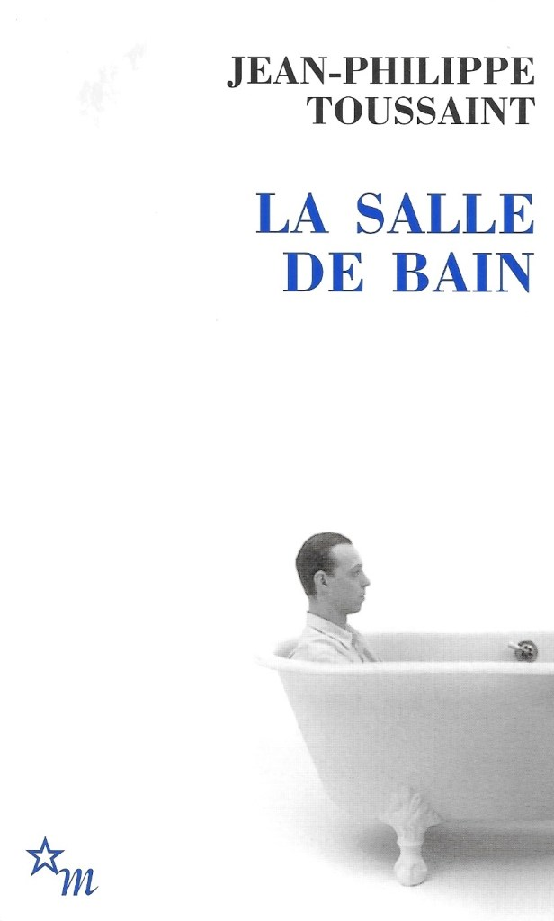 Jean-Philippe Toussaint, la Salle de bain, éd. de 2005, couverture