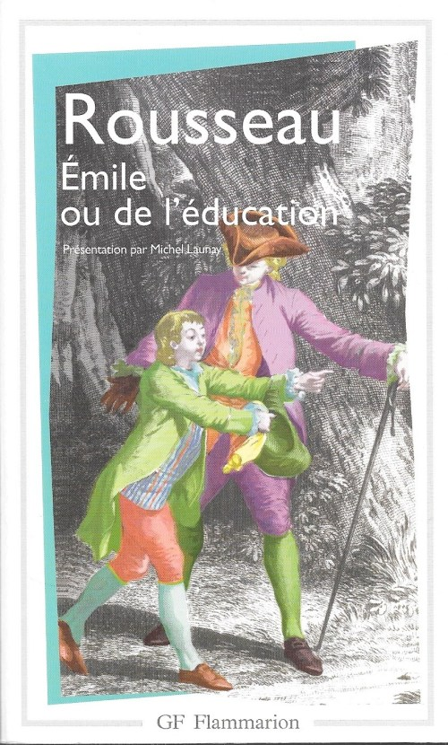 Jean-Jacques Rousseau, Émile ou de l'éducation, éd. de 2001 (1966), couverture