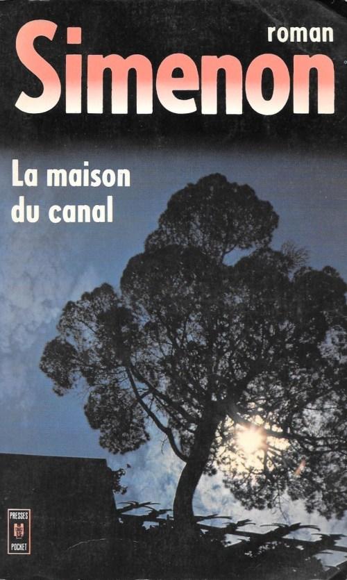 Georges Simenon, la Maison du canal, éd. de 1976, couverture