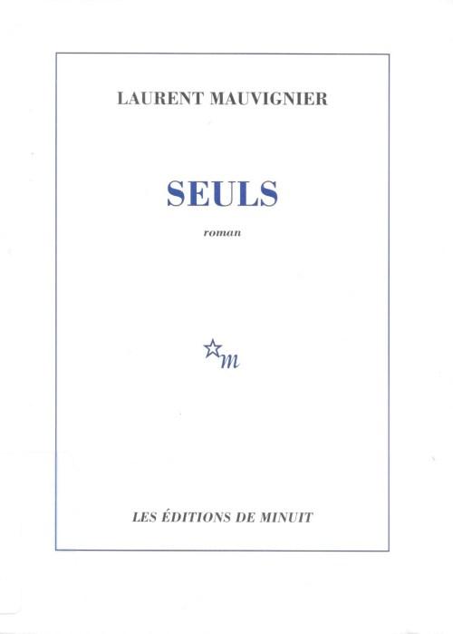 Laurent Mauvignier, Seuls, 2004, couverture