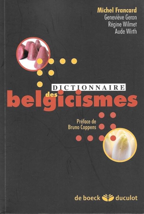 Dictionnaire des belgicismes, 2009, couverture