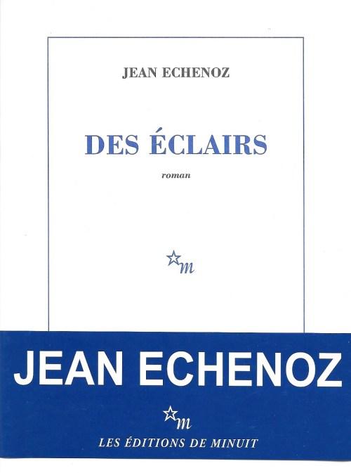 Jean Echenoz, Des éclairs, 2010, couverture