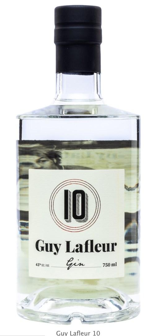 Société des alcools du Québec, gin Guy Lafleur 10, 2020