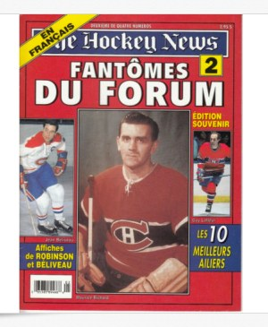 Hockey News, 1996, couverture