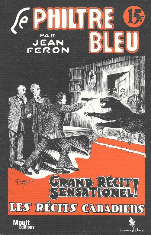 Jean Féron, le Philtre bleu, 2011, couverture