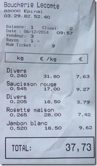 Ph. Didion, «note palindrome, Epinal (Vosges), 6 décembre 2014»