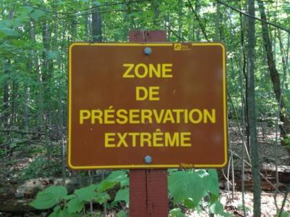 Zone de préservation extrême