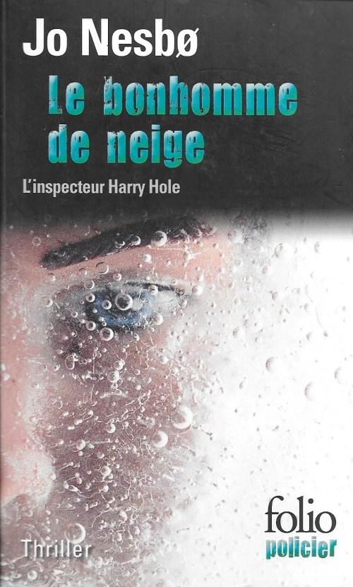 Jo Nesbø, le Bonhomme de neige, 2008, couverture