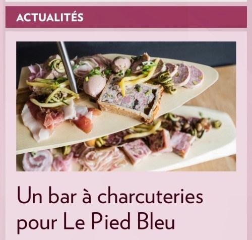 Bar à charcuteries, la Presse+, 7 mai 2016
