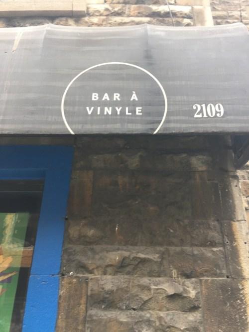 Bar à vinyle, rue de Bleury, Montréal, 23 février 2017