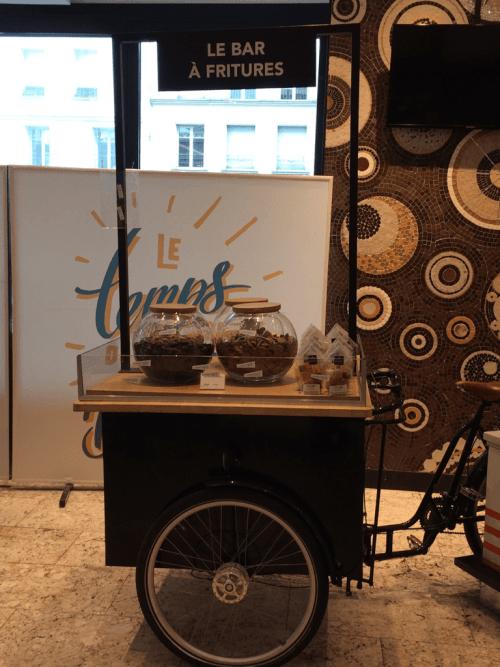 Bar à fritures, Paris, mai 2019