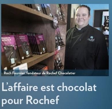 «L'affaire est chocolat», la Presse+, 26 mai 2016