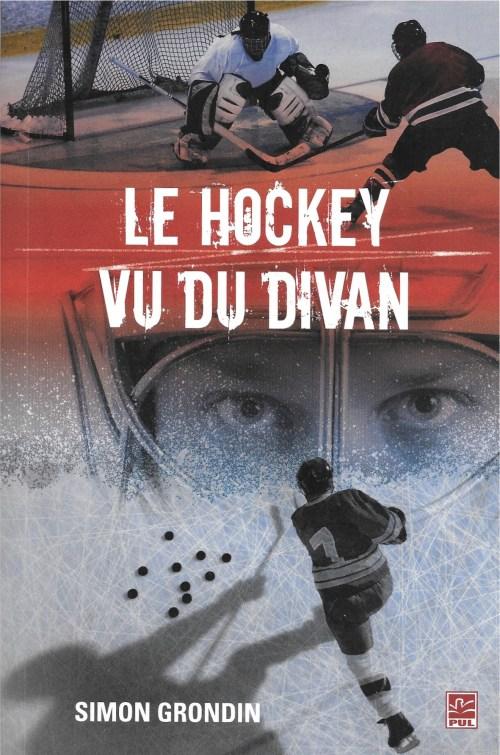 Simon Grondin, le Hockey vu du divan, 2012, couverture