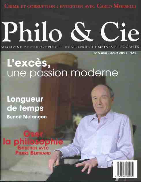 Philo & cie, 5, 2013