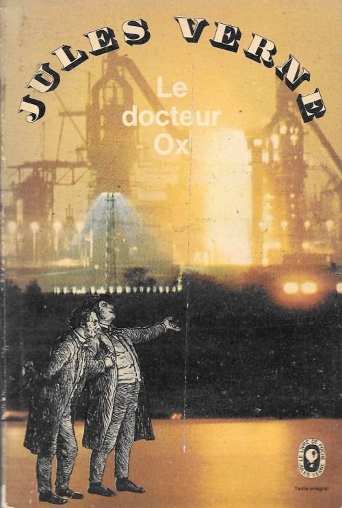Jules Verne, le Docteur Ox, 1966, couverture