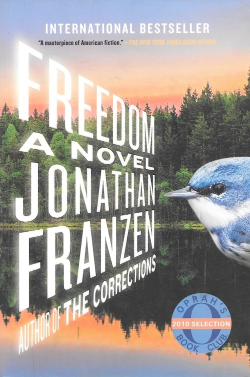 Jonathan Franzen, Freedom, 2010, couverture