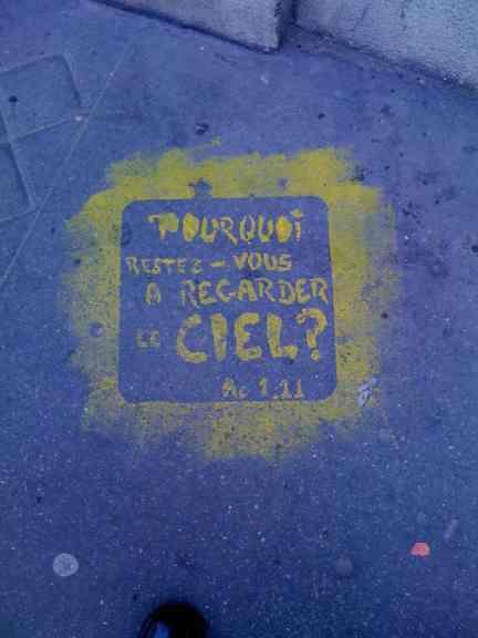 Paris, graffiti, 2011