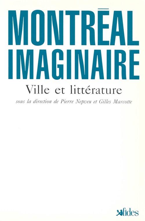 Montréal imaginaire, ouvrage collectif, 1992, couverture