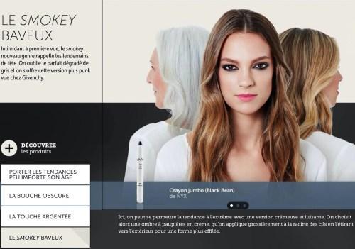 Maquillage «baveux», la Presse+, 15 septembre 2016