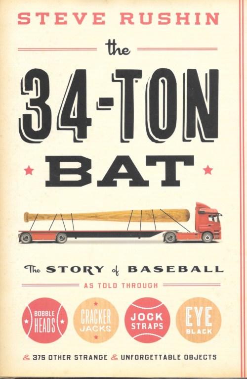 Steve Rushin, The 34-Ton, 2013, couverture