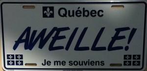 (Fausse) Plaque minéralogique du Québec