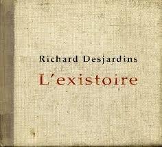 Richard Desjardins, l'Existoire, pochette