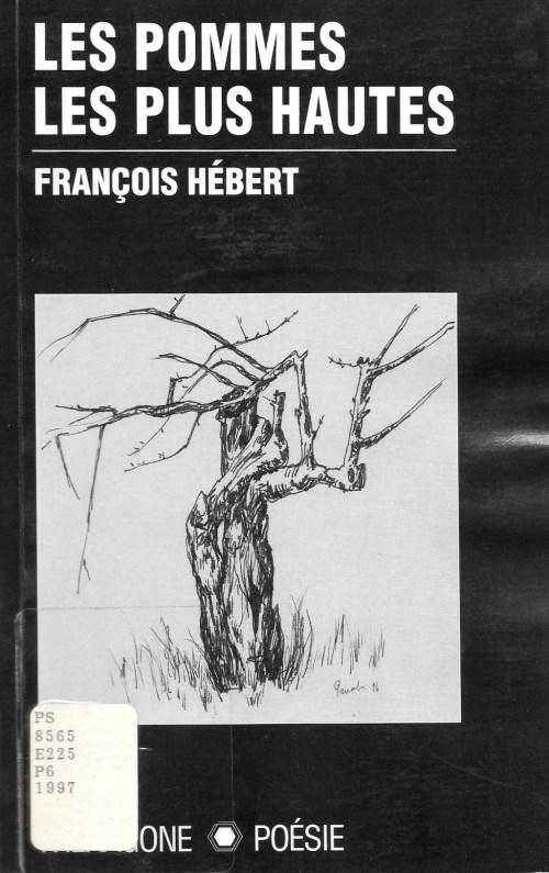 François Hébert, les Pommes les plus hautes, 1997, couverture