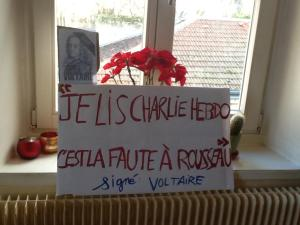 Voltaire, Rousseau et Charlie hebdo