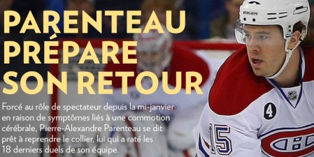 La Presse+, 26 février 2015