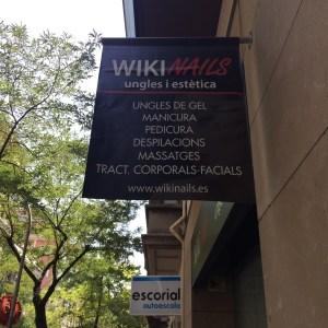 Wikinails, Barcelone, juillet 2015, affiche